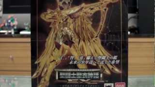 4am - Bandai Saint Seiya Myth Cloth EX Sagittarius Aiolos Assembly + Review