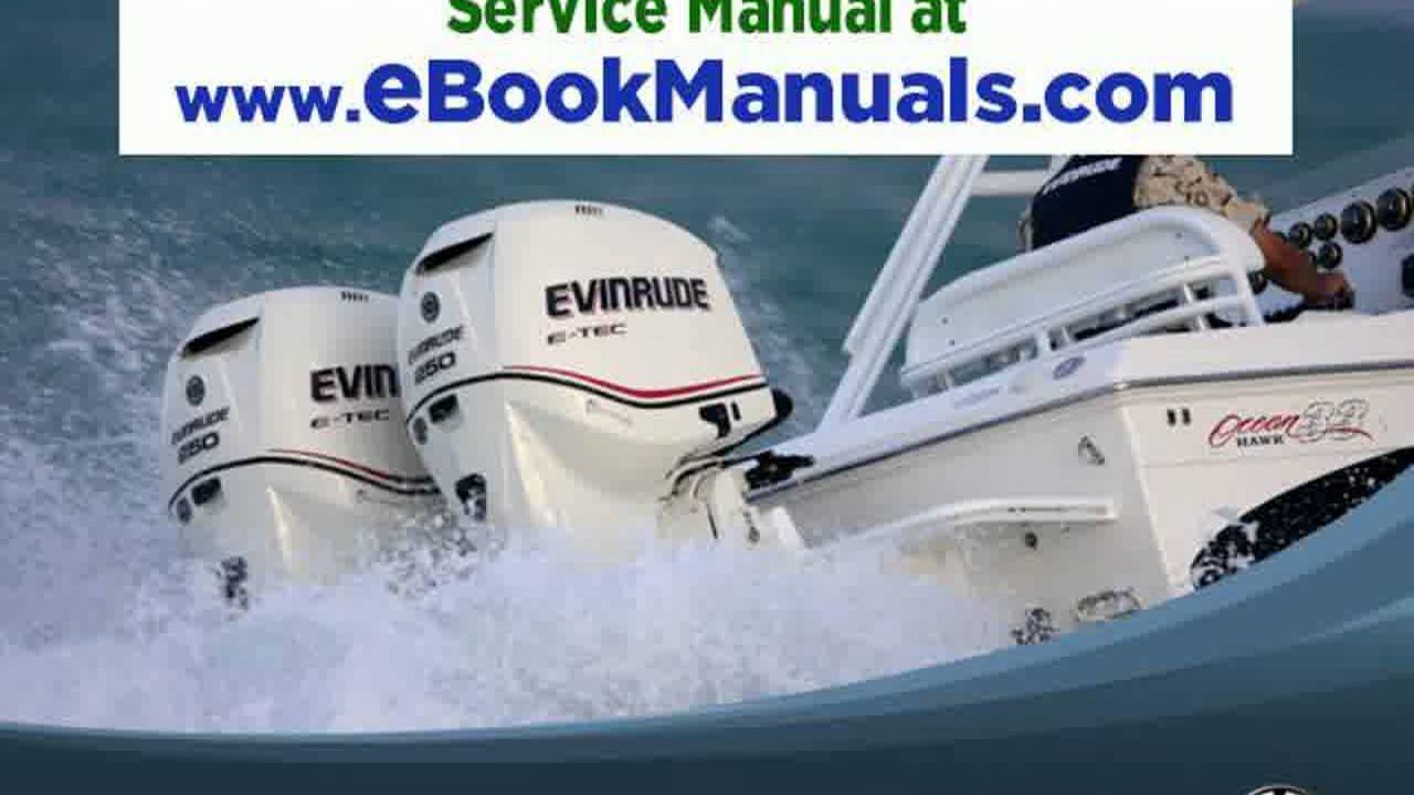 JOHNSON EVINRUDE OUTBOARD SERVICE MANUAL 1990-2001 DOWNLOAD - 1HP TO 300HP