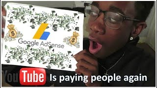 My First Youtube Paycheck+How to Make Money on Youtube 2018