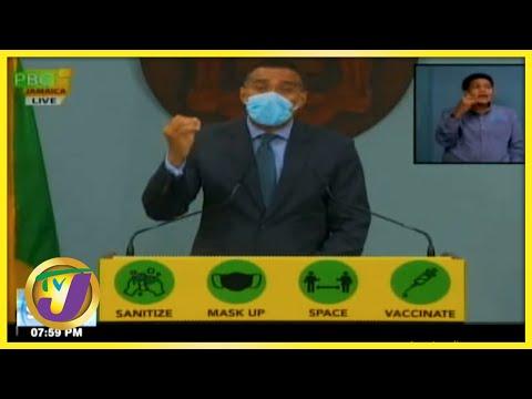Tan a Yuh Yard | Jamaica's PM's Lockdown Message | TVJ News - August - 19 2021