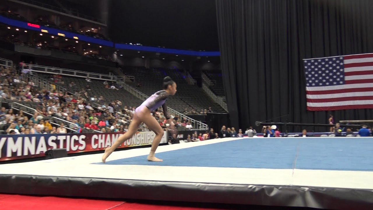 Download Kailin Chio– Floor Exercise – 2019 U.S. Gymnastics Championships – Junior Women Day 1