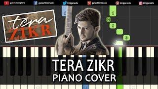 Tera Zikr Song Darshan Raval | Piano Cover Chords Instrumental By Ganesh Kini