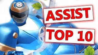 Top 10 Best Assists | Power Rangers: Legacy Wars