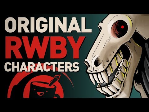 Artists Design Original RWBY Characters (ft. Pat from Rooster Teeth)