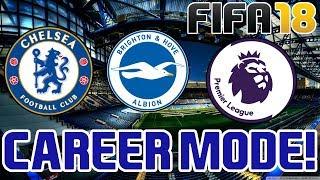 FIFA 18 Career Mode - Chelsea Vs Brighton & Hove Albion - Goals & Highlights - Premier League - #29