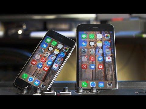 iPhone 6 против iPhone 6 Plus