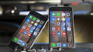 iPhone 6 против iPhone 6 Plus(, 2014-10-13T09:00:03.000Z)