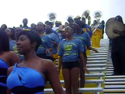 FVSU marching band lets go
