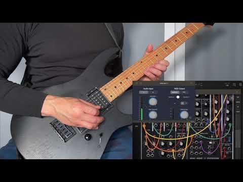 Real-time Audio to MIDI Converter - A2M Audio to MIDI AUv3 - Guitar to Moog
