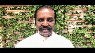 VIRAL VIDEO:  VAIRAMUTHU REPLIES