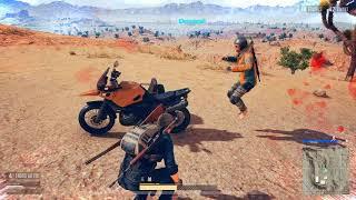 PUBG HEY VIVE LA MOTO