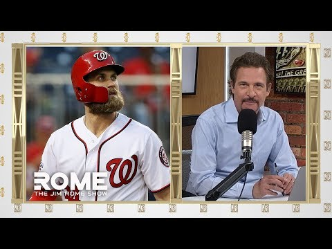 Bryce Harper Signs With Phillies, 13-Year $330M   The Jim Rome Show