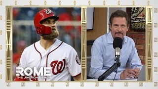 Jim Rome gives his take on Bryce Harper signing with the Philadelphia Phillies. SUBSCRIBE TO OUR PAGE: https://www.youtube.com/user/CBSSports ...