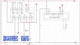 Froid101-Montage 3-Chambre froide négative-modification câblage commande ventilateur evapo