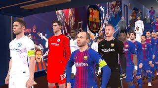 Barcelona vs Chelsea | UEFA Champions league 14 March 2018 Gameplay