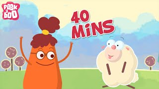 Mary Had A Little Lamb And More Popular Nursery Rhymes For Kids | 40 Mins Compilation