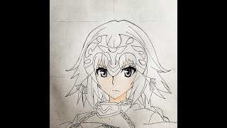 How to draw Ruler (Fate Apocrypha)