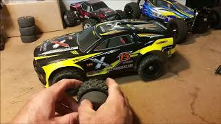 9118 1/12 scale RC Tire & 3S Battery Test