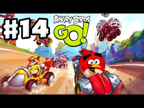 Angry Birds Go! Gameplay Walkthrough Part 14 - Jenga and Bub