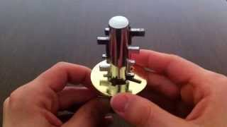 Solution for Free The Key from Puzzle Master Metal Puzzles