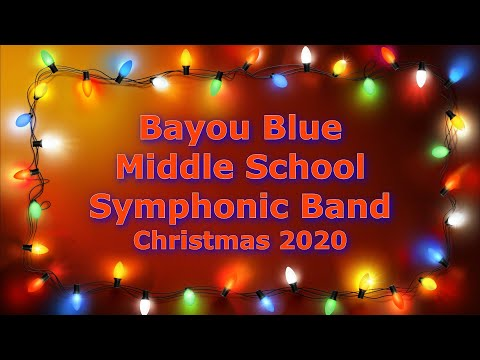 Bayou Blue Middle School Band