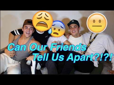Our Best Friends Try To Tell Us Apart!!!!!