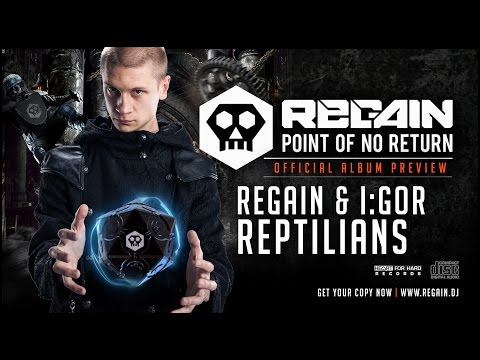 Regain & I:Gor - Reptilians | Official Album Preview