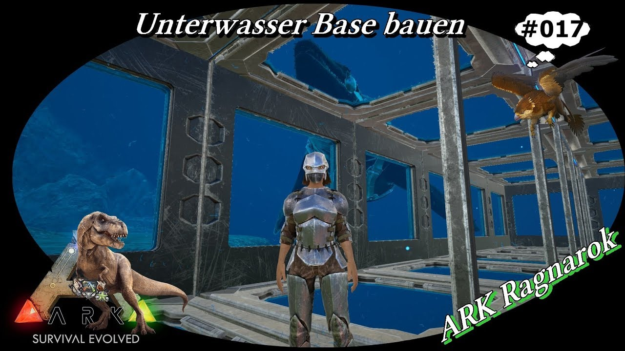 Ark Ragnarok 017 Unterwasser Base Bauen Deutsch German Let S