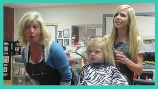 Repeat youtube video Kinz Wants Haircut Like Nonna! │1•3•14 DAILY VLOG
