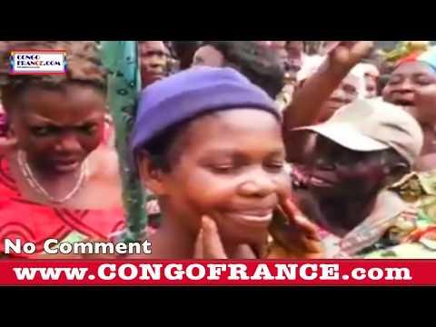 MUTAKALIYA: Ba mamans kassaiennes Nues dans les rues de Kananga pour soutenir les Opposants