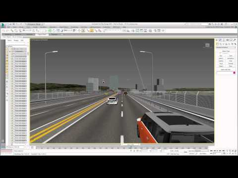 Using 3ds Max Design With Civil 3D - Part 24 - Animating Cameras