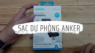 Cục sạc dự phòng quá ngon của Anker | PowerCore Metro Slim 10000 mAh