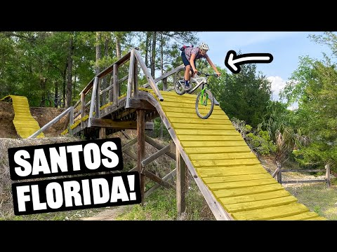 Must Ride Florida Skills Park! (Santos Vortex Pit)