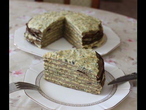 Печеночный торт. От коржей до начинки