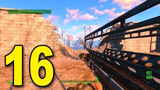 Fallout 4 - Part 16 - FAT MAN NUKE LAUNCHER! (Let