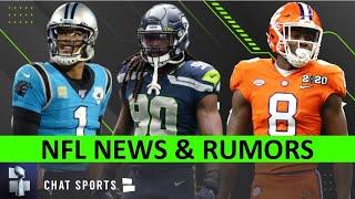 NFL Rumors On Cam Newton & Jadeveon Clowney Free Agency + Justyn Ross Injury, NFL Training Camp News