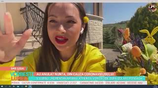 Vorbește Lumea: Vlăduța Lupău a anulat nunta, din cauza coronavirusului