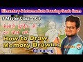 Master class10 how to draw memory drawing swachh bharat with colour