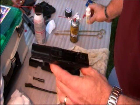Cleaning the Springfield XD Series