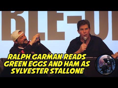 Ralph Garman reads Green Eggs and Ham as Sylvester Stallone