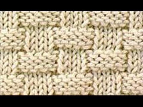 Strickmuster * KORBMUSTER * - YouTube