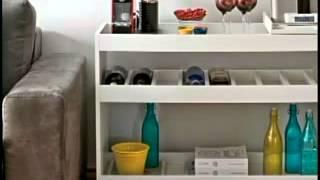 Dicas para fazer um barzinho em sua casa - Designers Ana Gabriela e Juliana Maciel