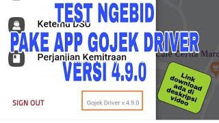 Gambar cover Gojek Driver ori versi 490 Download and test