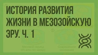 История развития жизни в мезозойскую эру. Ч. 1