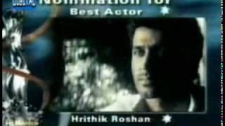 Hrithik Best actor for Knph -Filmfare 2000
