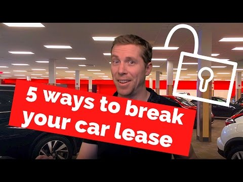 5 Ways to Get Out of a Car Lease Before the End