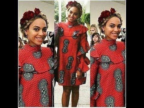 Diy Beyonce Inspired Turtle / Halter Neck Ankara (African Print)  Dress | Jessica Nneka