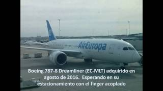 Vuelo UX097 (Madrid - Miami) | Air Europa | Boeing 787-8, Economy