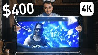 ДОСТУПНЫЙ 4К HDR Smart TV / ТЕЛЕВИЗОР от Ergo, Обзор