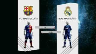 Barcelona Vs Real Madrid PES 2009 PC [Parte 1]